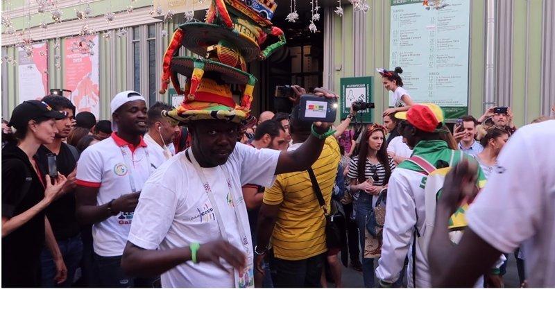 Привет в Сенегал ЧМ 2018 по футболу, бразилия, девушки, мексика, спорт, футбол, чемпионат мира, чм-2018
