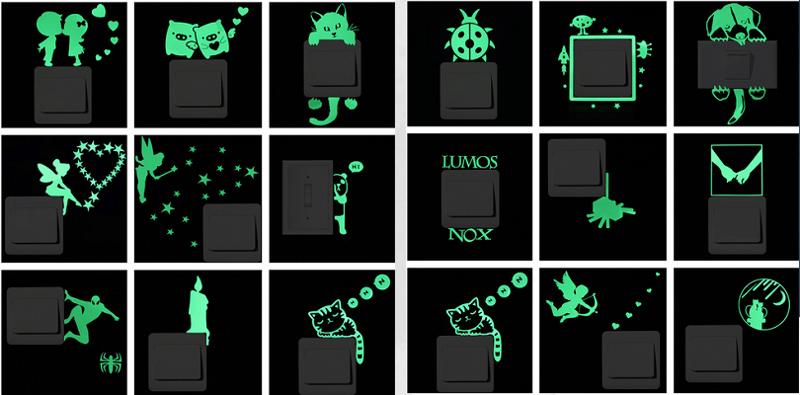 "10. <a href=""https://goo.gl/8qY7sL"">Светящиеся декоративные наклейки </a> aliexpress, алиэкспресс, котики, подарки, покупки, развлечения, техника"