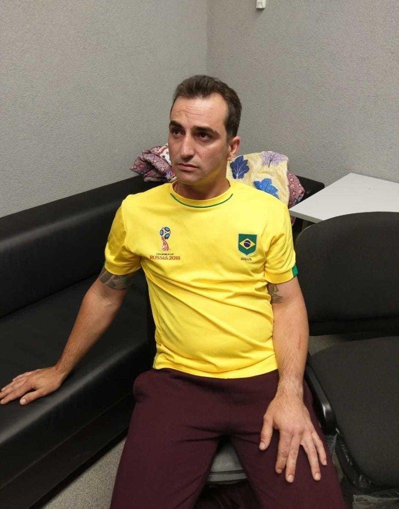 Любовь к футболу сгубила: в России задержали бразильского гангстера, числящегося в розыске ynews, бразилия, интерпол, мундиаль, розыск, чм-2018