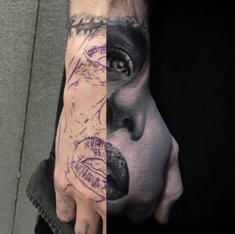 Искусство татуировки день, животные, кадр, люди, мир, снимок, фото, фотоподборка