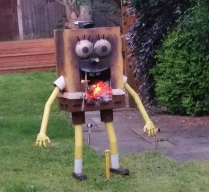 Губка Боб, ты горишь в мире, подборка, прикол, странные вещи, удивительно, фото