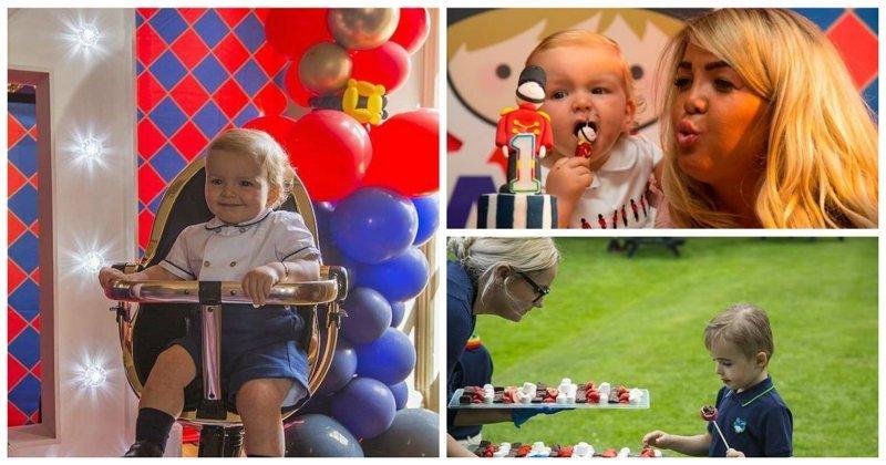 Щедрая бабуля потратила больше миллиона рублей на праздник дня рождения внука luxury, британия, день рождения, дети, праздник, роскошь