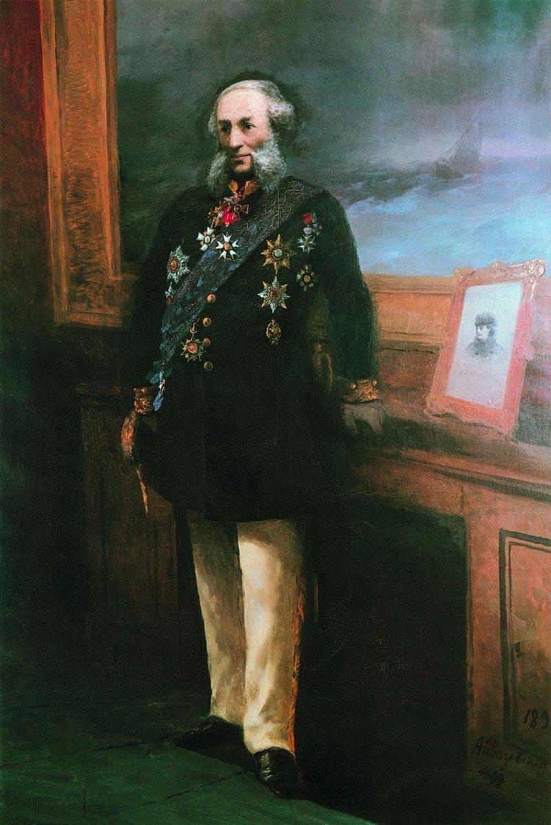 Запрещенные картины Айвазовского