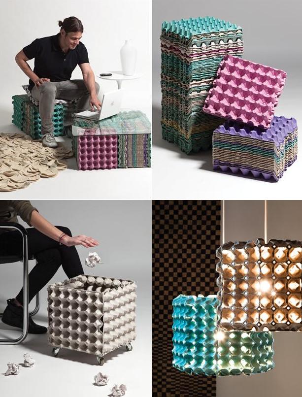 Даже яичные клетки Фабрика идей, дизайнеры, мебель, фантазия