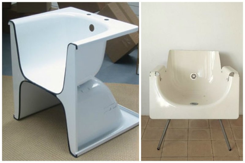 В ход пойдут и старые ванны Фабрика идей, дизайнеры, мебель, фантазия