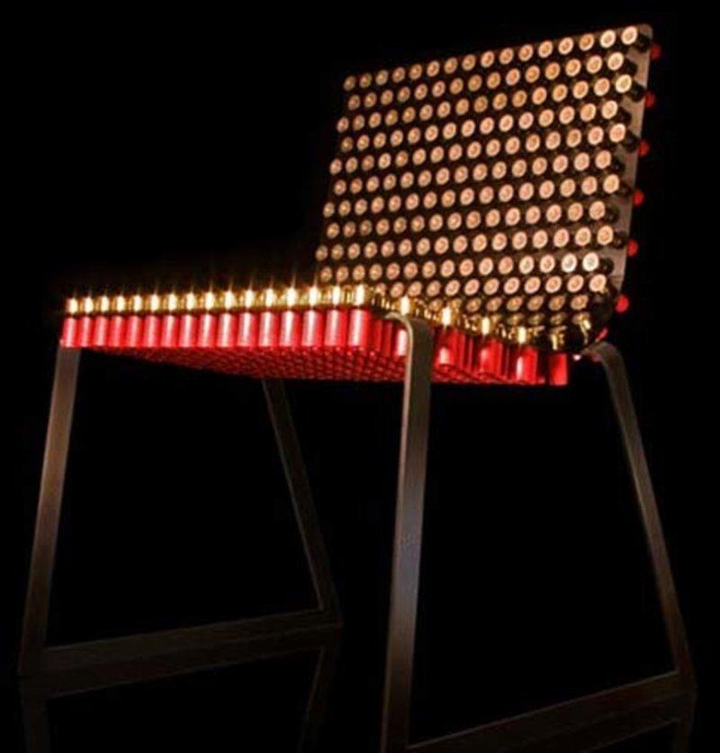 Отстрелянные гильзы Фабрика идей, дизайнеры, мебель, фантазия