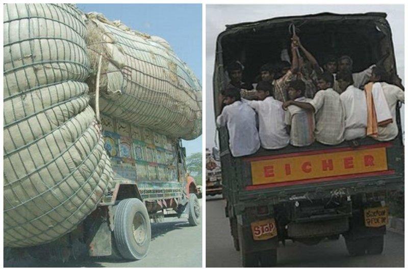 """Выражение """"места нет"""" в Индии не существует funny foto, индия, интересно, смешно, юмор"""