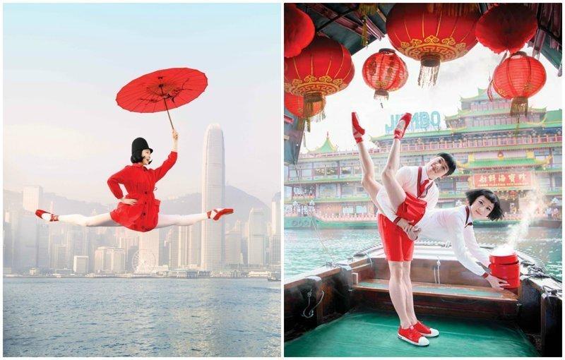 Рекламные плакаты Гонконгского балета к новому сезону произвели фурор балет, гонконг, красиво, реклама, рекламные плакаты, танцоры, танцы, фото