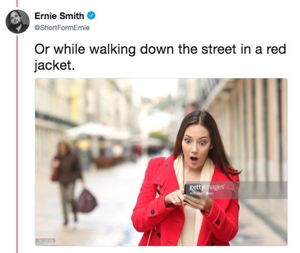 """""""Или шагая по улице в красном пиджаке"""" meme, выражение лица, забавное, интернет мем, смешное, стоковые фото, шок, шок это по-нашему"""
