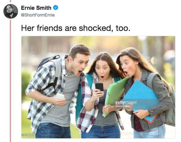 """""""И ее друзья тоже крайне шокированы"""" meme, выражение лица, забавное, интернет мем, смешное, стоковые фото, шок, шок это по-нашему"""