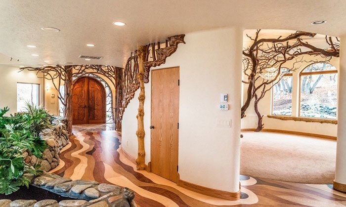 Снаружи этот дом кажется вполне обычным, почему же он стоит $7,6 млн? oregon, властелин колец, дизайн, дом, мир, толкин, фото