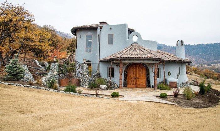 Над проектом особняка работали местные дизайнеры oregon, властелин колец, дизайн, дом, мир, толкин, фото