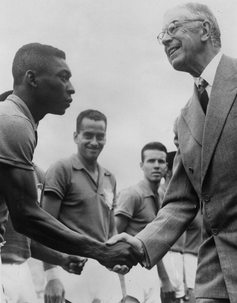 Два короля Пеле, знаменитости, история, спорт, футбол