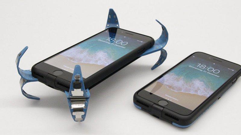 Вот так выглядит изобретение Френзеля айфон, изобретение, подушка безопасности, студент, телефон