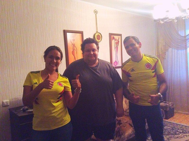 Как в Саранске приютили потерявшегося мэра из Колумбии ЧМ 2018 по футболу, гордость России, чемпионат мира по футболу
