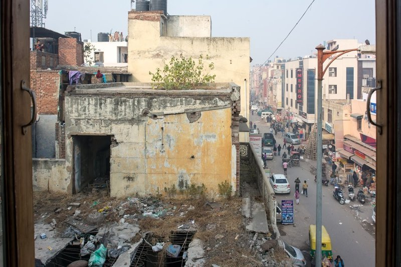 5. Снова Индия Отель, вид из окна, вид из отеля, путешествия, туристы, фото