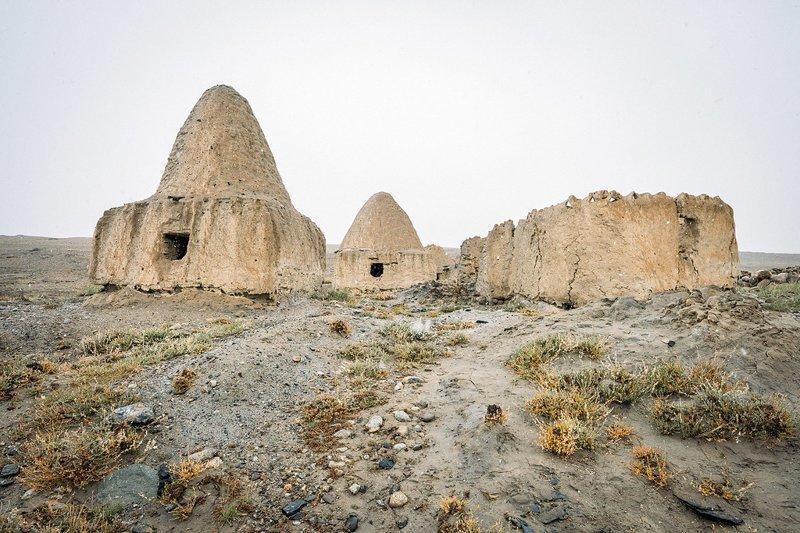 Киргизские гробницы в Бозаи Гумбазе Ваханский коридор, афганистан, вид, горы, природа, путешествие, фотомир