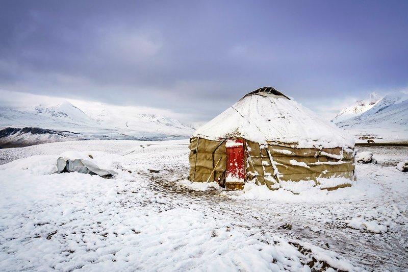 Юрта  Ваханский коридор, афганистан, вид, горы, природа, путешествие, фотомир
