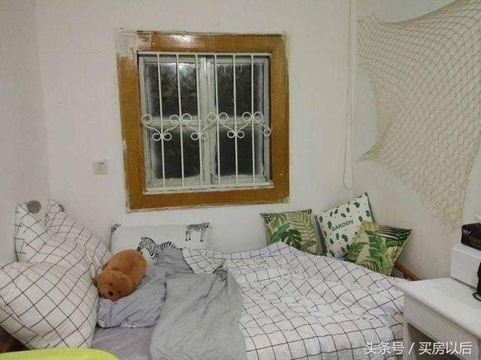 Китаянка также купила кровать немного уже, тем самым увеличив место в комнате история, комната, ремонт