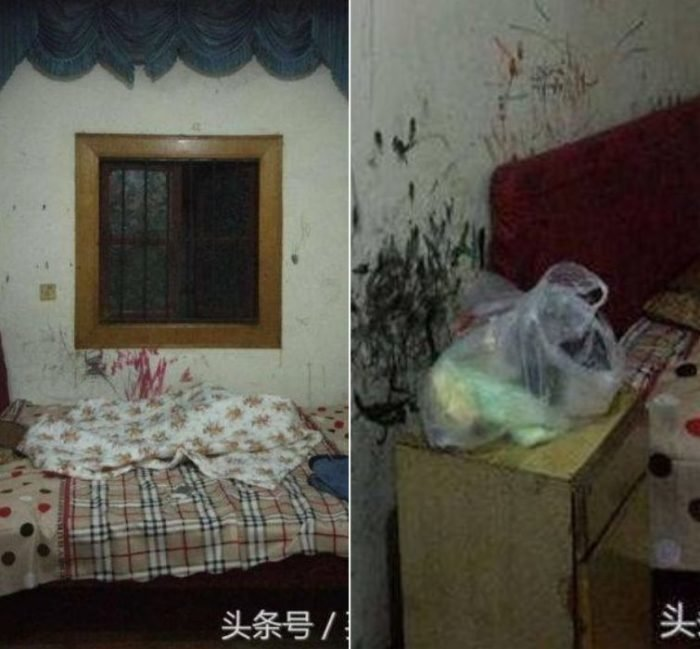 После предыдущего жильца (или жильцов) комната выглядела как кромешный ужас история, комната, ремонт