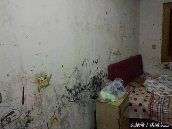 Все стены были исписаны и испачканы чем попало история, комната, ремонт