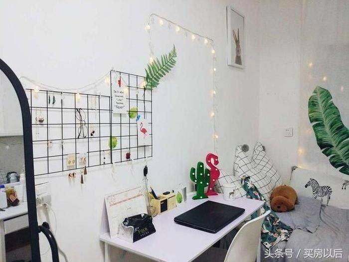 Первым делом она покрасила грязные стены в белый цвет история, комната, ремонт