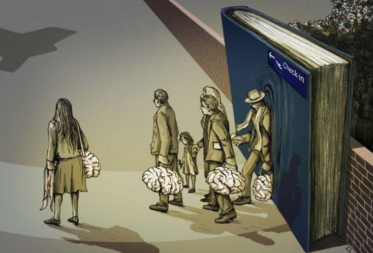 Утекай: 50% российских ученых готовы эмигрировать из России запад, миграция, мозги, работа, россия, ученые