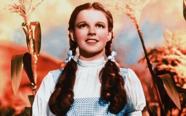 """6. Джуди Гарленд не номинировали за роль Дороти в """"Волшебнике страны Оз"""" актеры, актрисы, знаменитости, известные люди, кино, премии, роли, фильмы"""