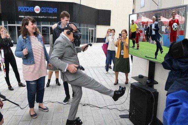 Симулятор Путина ynews, интересное, президент, путин, фото, футбол, чм-2018