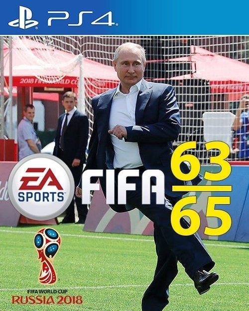 А вот и обложка для новой Fifa ynews, интересное, президент, путин, фото, футбол, чм-2018