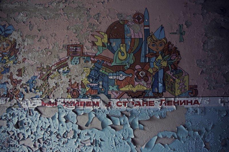 Останки более развитой цивилизации: элементы оформления заброшенных военных объектов СССР в Германии Военные базы, ГДР, СССР, восточная германия, германия, заброшенное, ностальгия