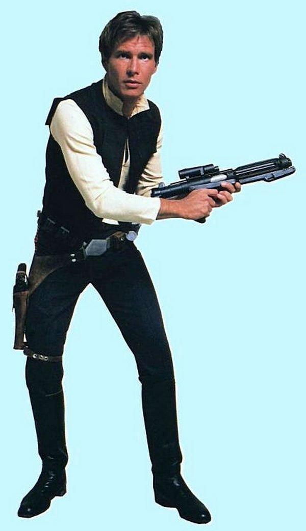 Харрисон Форд, как Хан Соло в «Звездных войнах», 1977 год. кинематограф, ностальгия, ретро