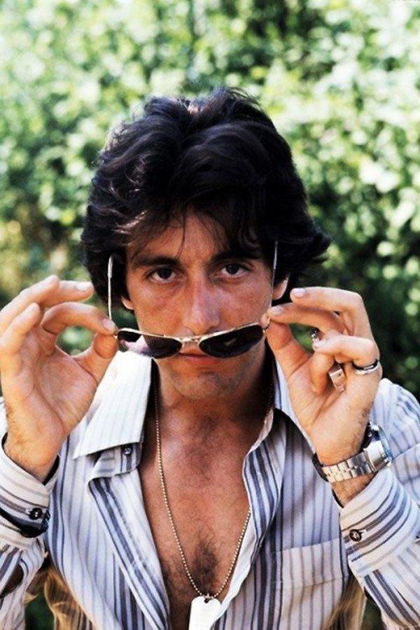 Аль Пачино, сфотографированный Евой Серени , 1977. кинематограф, ностальгия, ретро