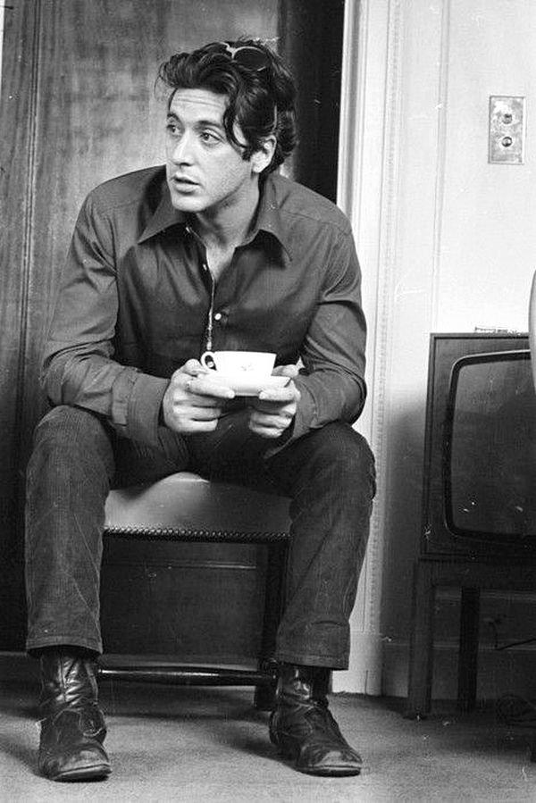 Аль Пачино - чай в Лондоне, 1974 кинематограф, ностальгия, ретро