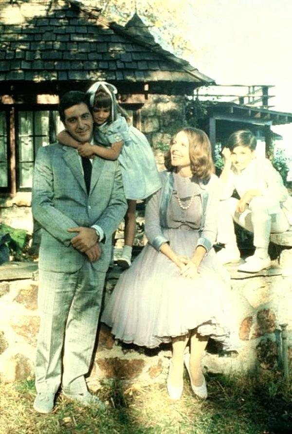 Аль Пачино и Диана Китон в «Крестный отец. Часть II», 1974. кинематограф, ностальгия, ретро