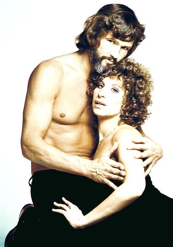 Барбра Стрейзанд и Крис Кристофферсон в 1976 году кинематограф, ностальгия, ретро