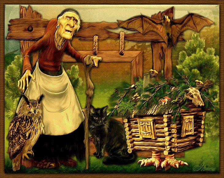 Баба-Яга, национальность, сказки, страна, ученые