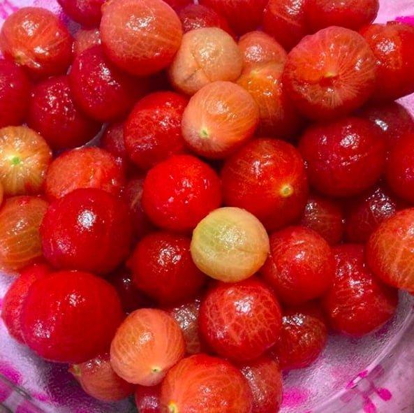 9. Трудно догадаться, но это вишня еда, неожиданно, овощи, подборка, редкие фото, фото, фрукты, эксперименты