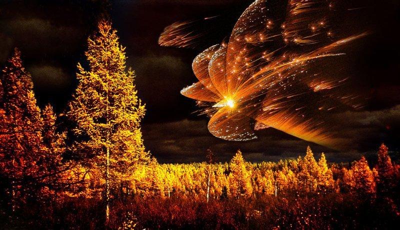 Природное явление, метеорит или инопланетный корабль? Пришельцы, Тунгусский метеорит, астероид, гипотезы, космическое тело
