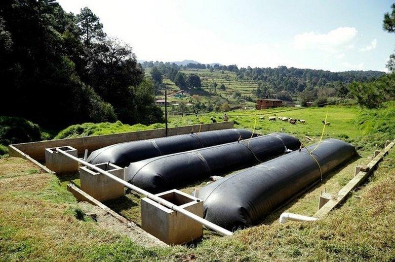 """Мешок с биогазом - Как тебе такое """"Газпром""""? биогаз, в мире, люди, мешок, наз, подушка"""