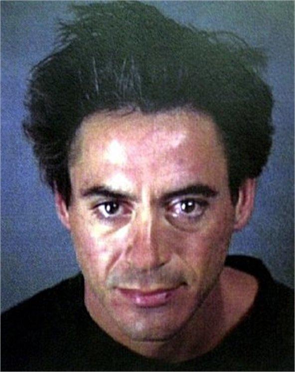 14. Роберт Дауни младший звезды, знаменитости, наркотики, полицейский участок