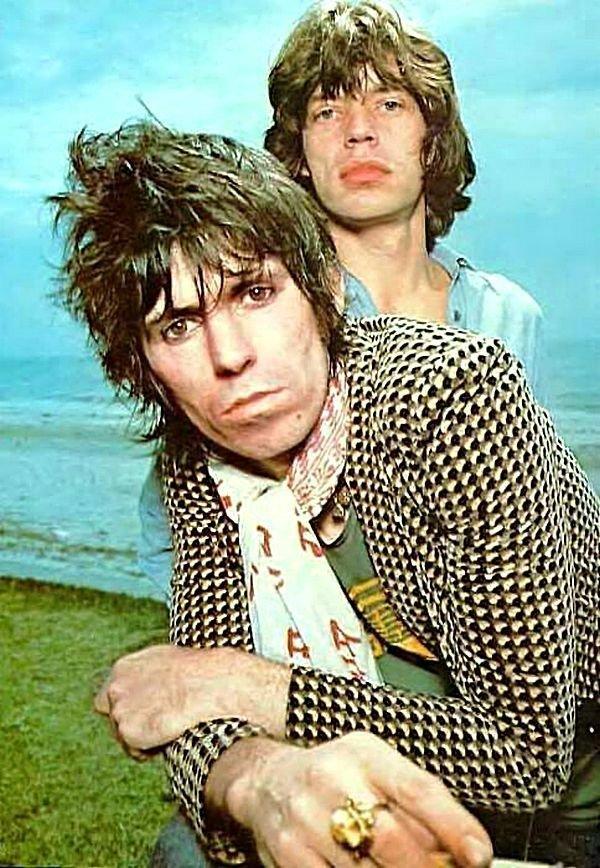 Мик Джаггер и Кит Ричардс, 1976. 1970-ые, Кит Ричардс, Музыка 20 века
