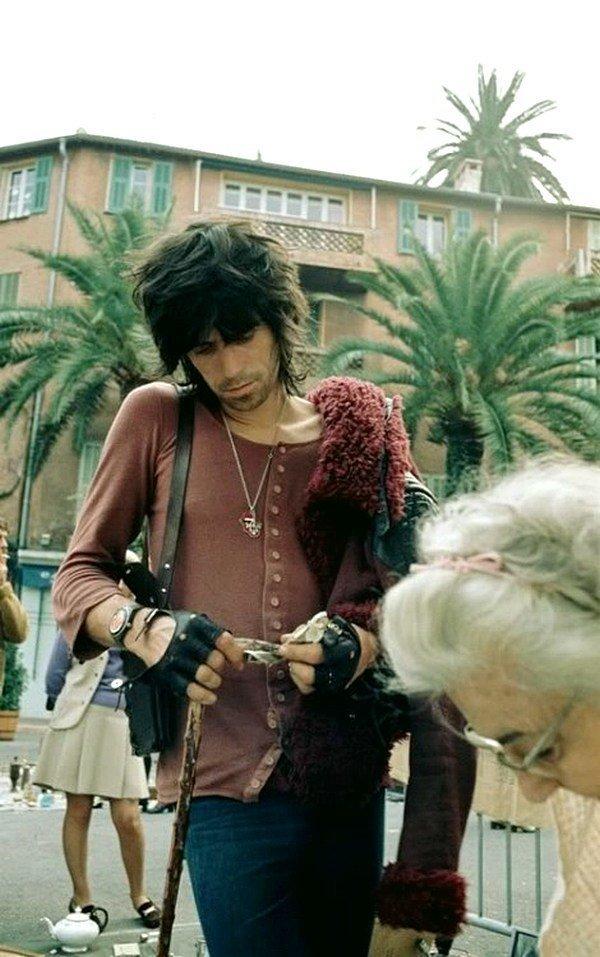 Кит Ричардс на юге Франции, 1971 год. 1970-ые, Кит Ричардс, Музыка 20 века
