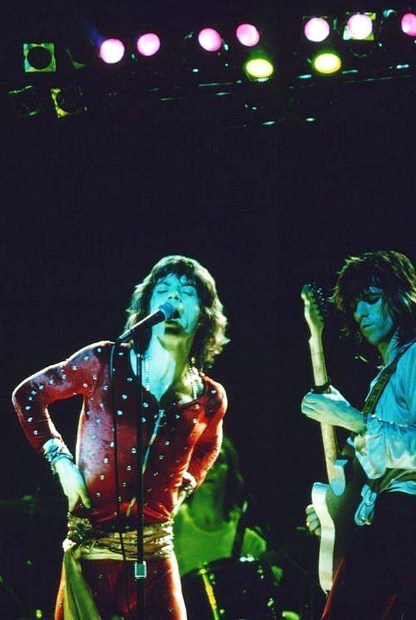 The Rolling Stones на сцене. 1970-ые, Кит Ричардс, Музыка 20 века