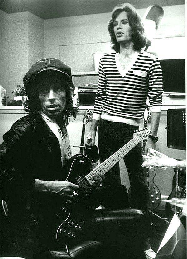 Мик Джаггер и Кит Ричардс, 1975 1970-ые, Кит Ричардс, Музыка 20 века