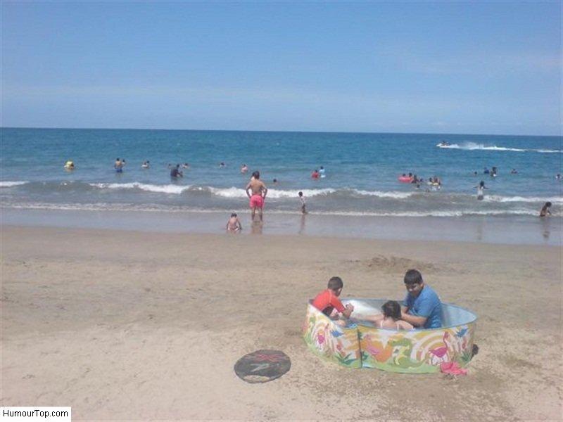 Загон для детей? жизнь, люди, отдыхающие, пляж, фейл, юмор