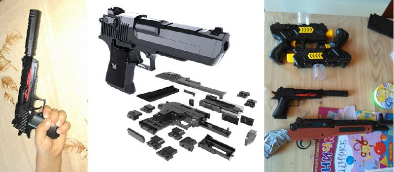 "9. <a href=""http://bit.ly/2lHN2rS"">Сборный пистолет-конструктор с глушителем</a> aliexpress, акции, алиэкспресс, подарки, покупки, развлечения, скидки, техника"