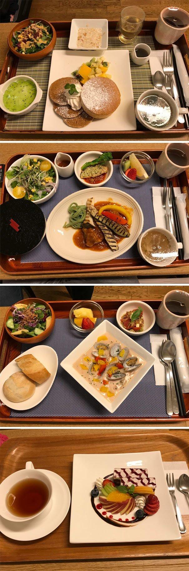 5. Так выглядят обеды в больницах Японии  изобретение, инновация, мир, путешествие, факты, фото, япония