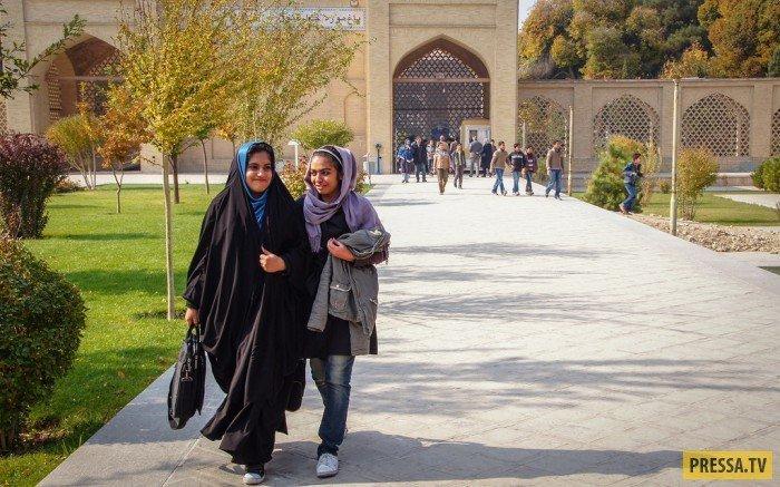Чадра (слева) и шарфик. девушки, история, факты