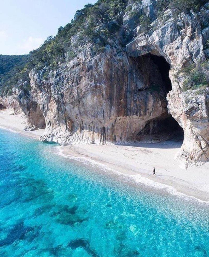Пляж Кала Луна, Сардиния, Италия день, животные, кадр, люди, мир, снимок, фото, фотоподборка